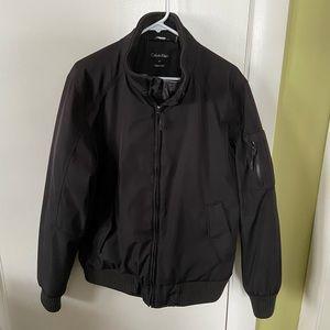 Men's Calvin Klein black winter bomber jacket